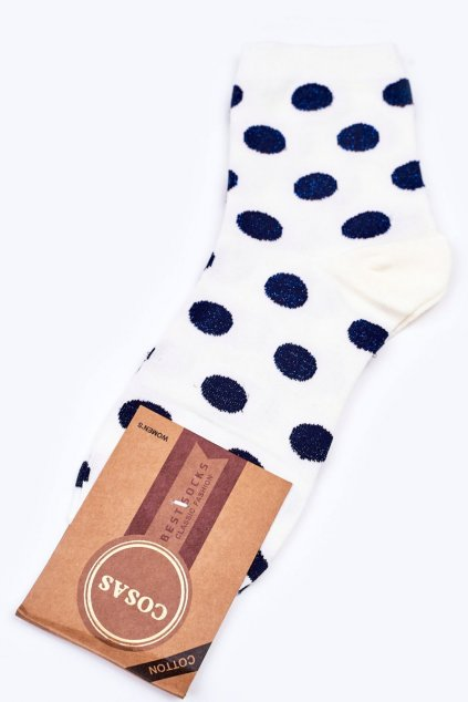 Dámske ponožky farba biela kód DMP316 WHITE