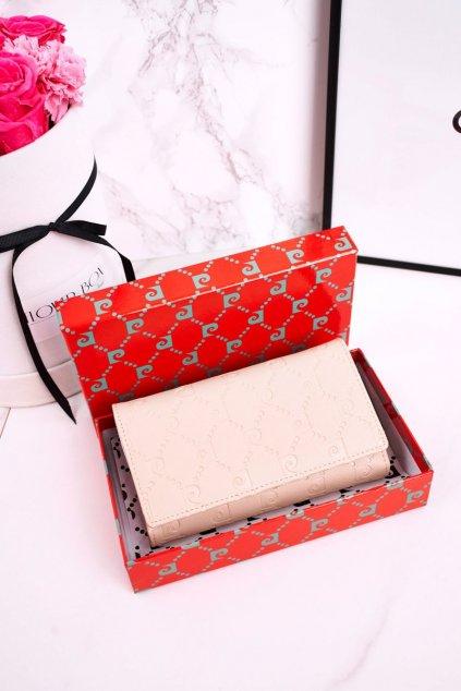 Peňaženka farba hnedá kód PSP79 455 BEIGE