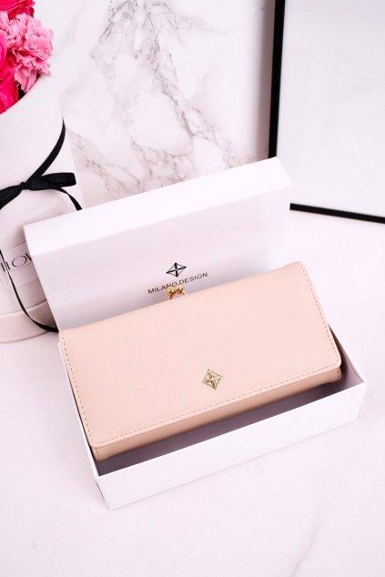 Peňaženka farba hnedá kód SF1854-FT WHITE ECRU