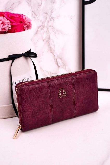 Peňaženka farba fialová kód A20082 BURGUNDY