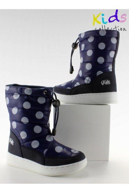 Detská obuv modré K1646109