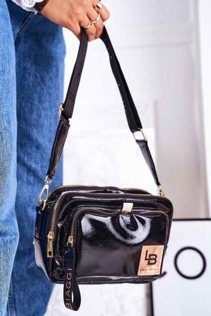 Dámska listová kabelka čierna kód kabelky JS-192 BLACK