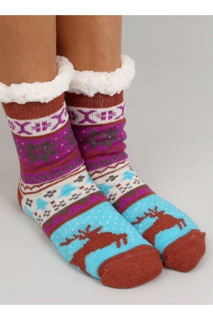 Damske ponožky viacfarebné YW811
