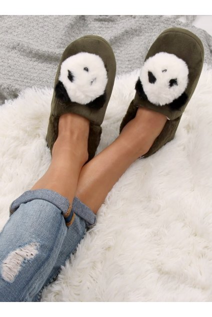 Damske ponožky zelené DN2123