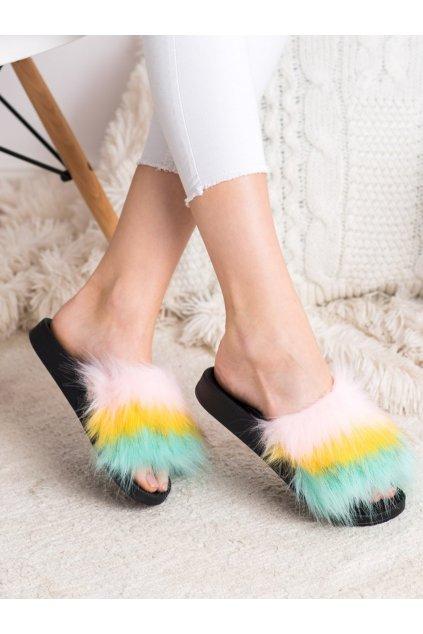 Viacfarebné dámske topánky na doma Bona kod S-2P