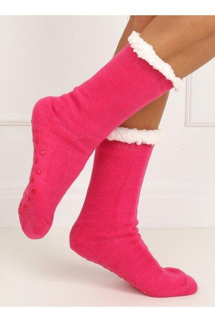 Damske ponožky ružové DN012