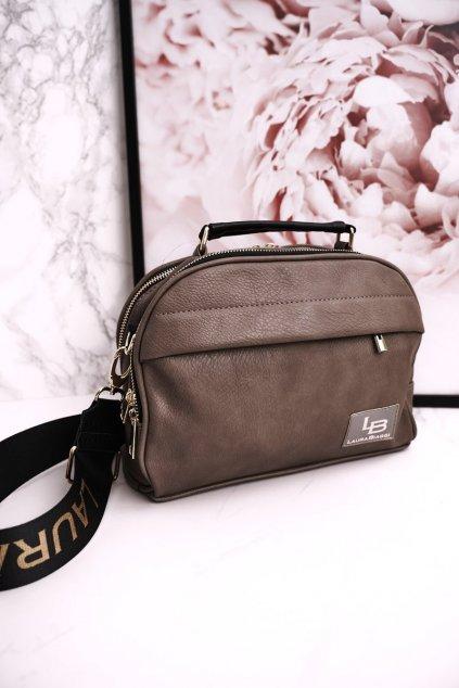 Dámska kabelka hnedá kód kabelky P291 BEIGE