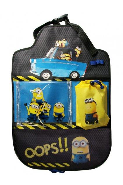 Vreckár do auta Disney Minions 40x60 cm