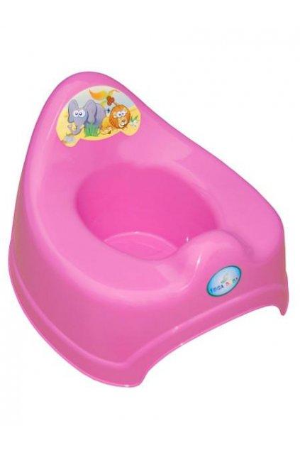 Detský nočník Safari ružový