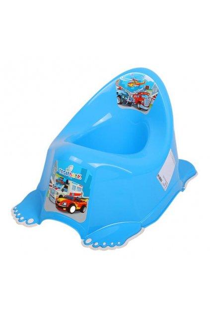 Detský nočník protišmykový Autíčka modrý