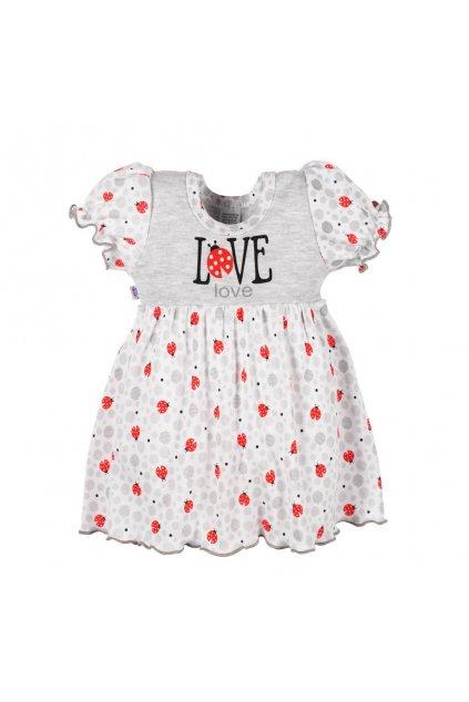 Dojčenské šatôčky New Baby LadyBird