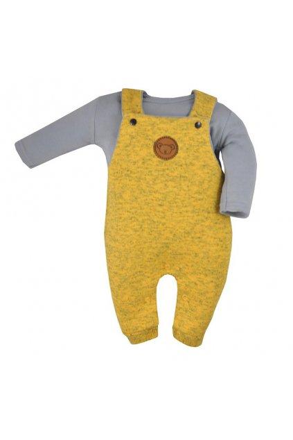 2-dielna dojčenská súprava Koala Koala melírovaná žltá