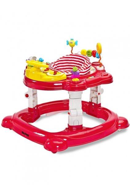 Detské chodítko Toyz HipHop 3v1 červené