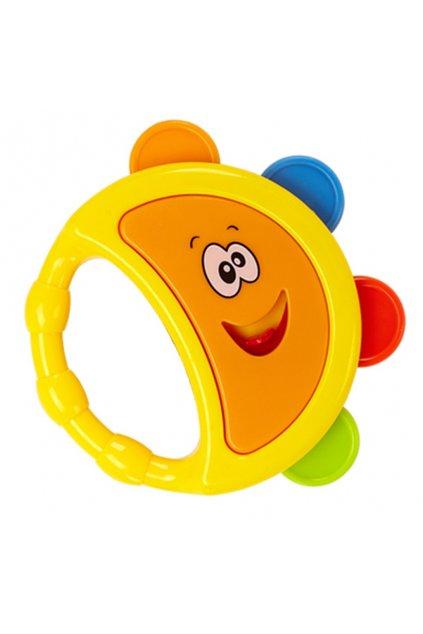 Hrkálka Bayo tamburína žltá