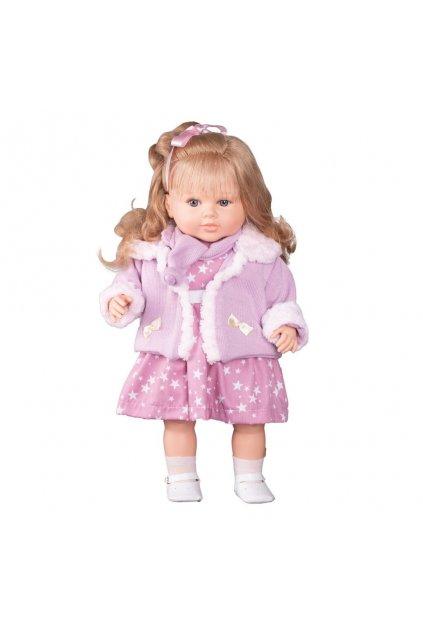 Luxusná hovoriaca detská bábika-dievčatko Berbesa Kristýna 52cm