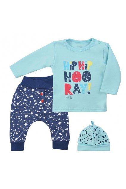 3-dielna detská súprava Koala Hip-Hip modrá