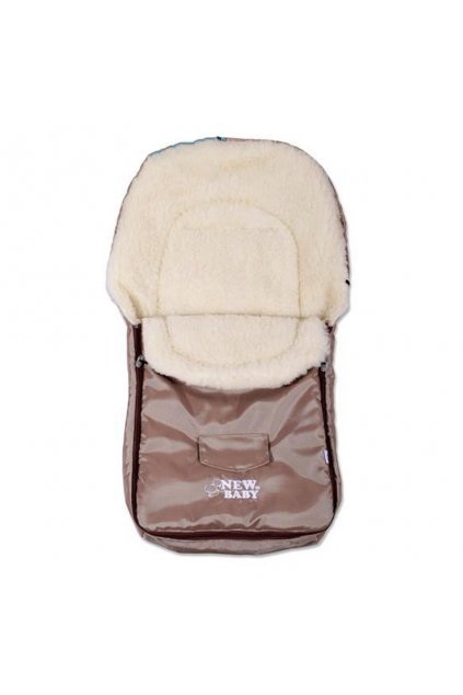 Zimný fusak New Baby Classic Wool brown