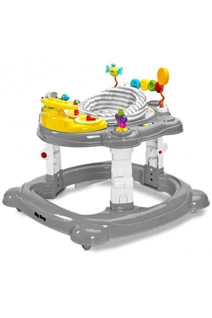 Detské chodítko Toyz HipHop 3v1 sivé
