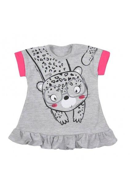 Dojčenské letné šaty Koala Sara sivé