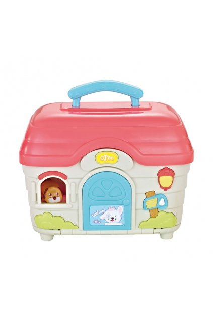 Interaktívna hračka BAYO domček pre zvieratka