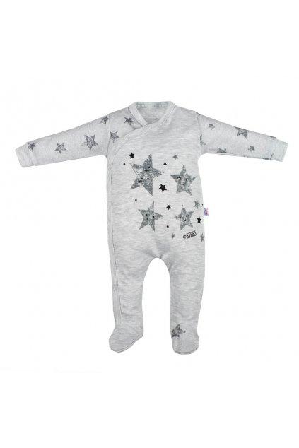 Dojčenský overal New Baby Stars