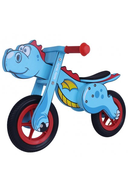 Detské odrážadlo bicykel Milly Mally DINO Mini blue