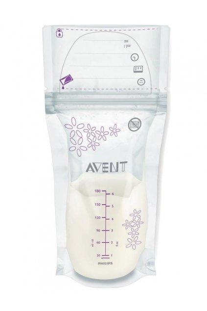 Sada sáčkov na mlieko Avent 180 ml - 25 kusov
