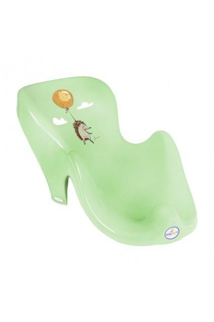 Lehátko na kúpanie ježek zelené