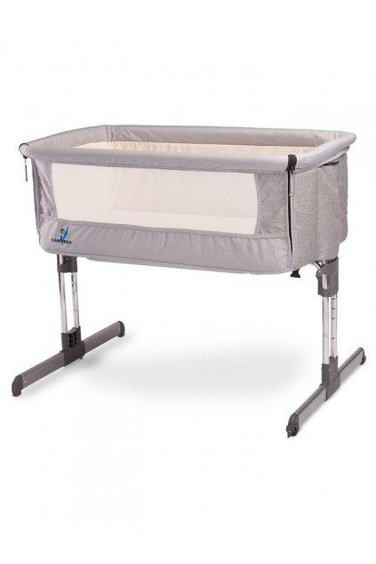 Detská postieľka CARETERO Sleep2gether grey