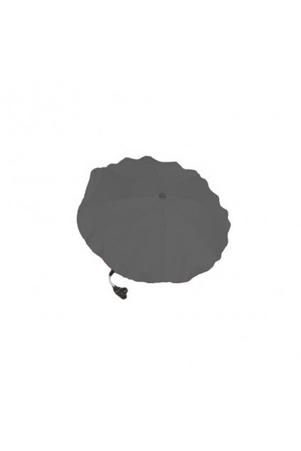 Slnečník na kočík sivý tmavy