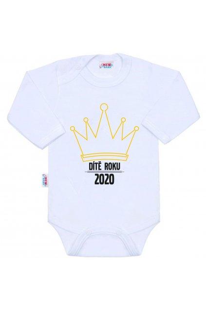 Body s potlačou New Baby Dítě roku 2020