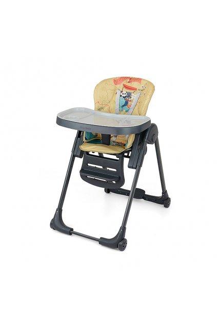 Jedálenská stolička Milly Mally Milano Panda