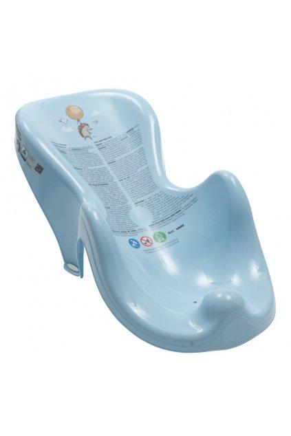 Lehátko na kúpanie ježek modré