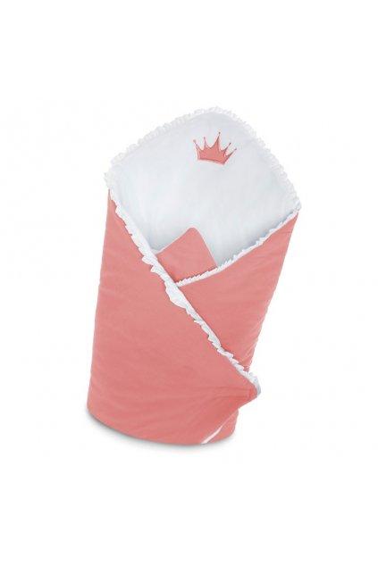 Zavinovačka s výstužou Belisima Royal Baby ružová