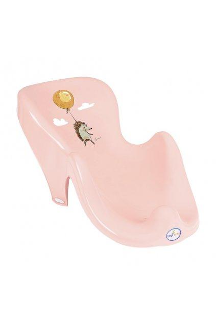 Lehátko na kúpanie ježek rúžové