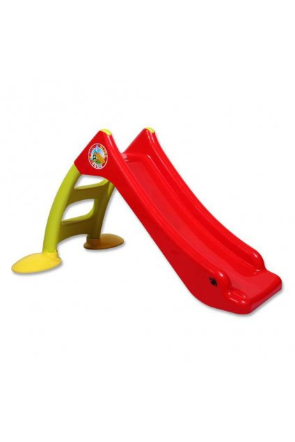 Detská šmýkačka - červená