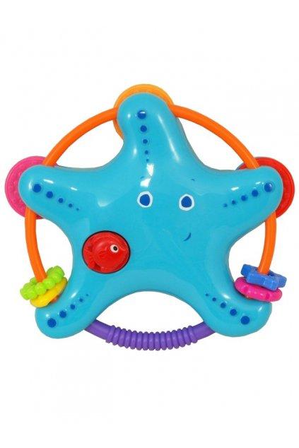 Hrkálka Baby Mix Hviezdička modrá