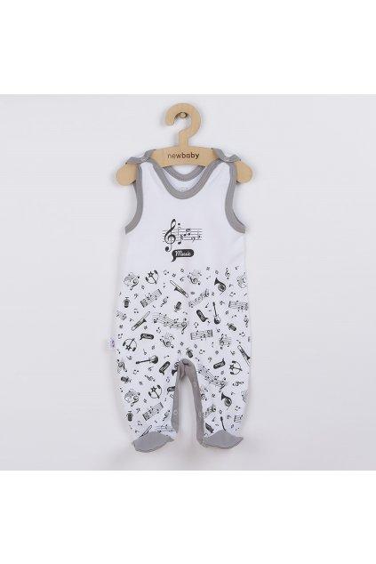 Dojčenské bavlnené dupačky New Baby Music