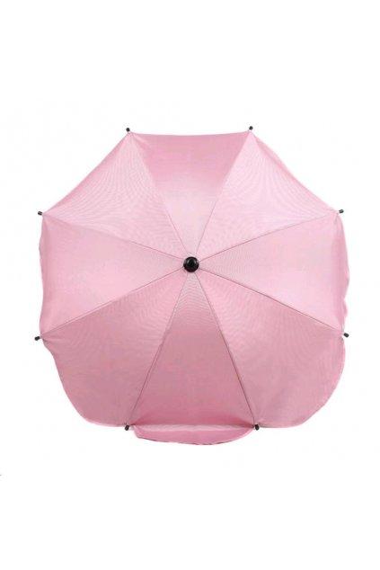 Slnečník na kočík svetlo ružový
