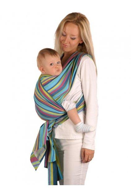Šatka Womar na nosenie detí