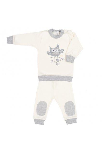 2-dielna dojčenská súprava New Baby Owl béžová
