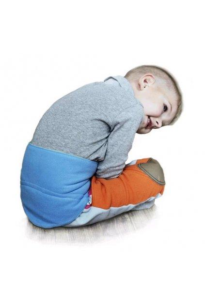 Detský bederňáčik 0-5 rokov VG antracitovo-limetkový