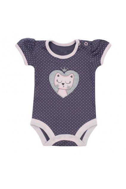 Dojčenské letné body Koala Summertime cat