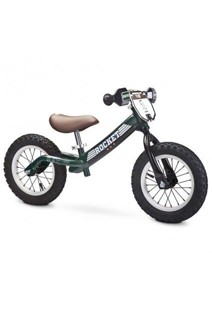 Detské odrážadlo bicykel Toyz Rocket green