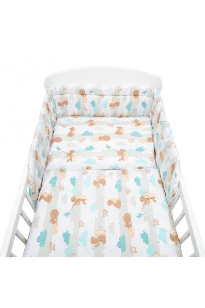 2-dielné posteľné obliečky New Baby 90/120 cm mama bear
