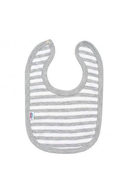 Dojčenský bavlnený podbradník New Baby Zebra exclusive