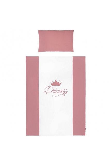 2-dielne posteľné obliečky Belisima Royal Baby 90/120 ružové