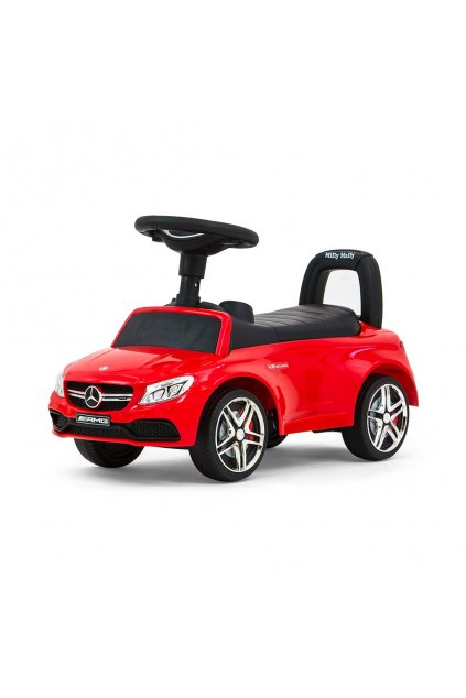 Detské odrážadlo Mercedes Benz AMG C63 Coupe Milly Mally red