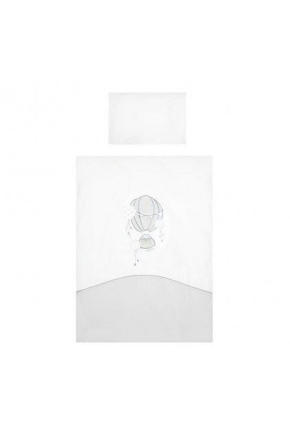 2-dielne posteľné obliečky Belisima Ballons 90/120 sivé