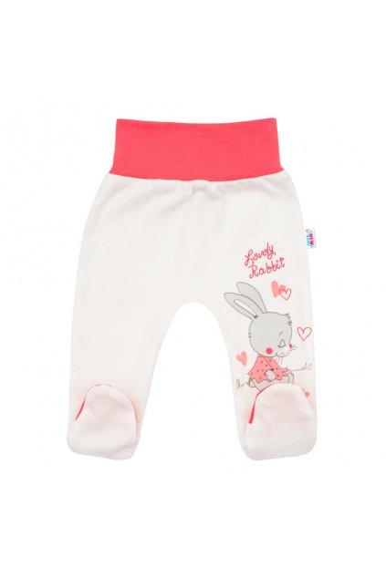 Detské polodupačky New Baby Lovely Rabbit ružové